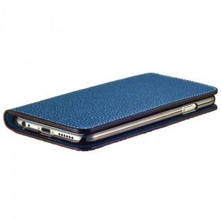 【iPhone6ケース】BONAVENTURA ドイツ製本革手帳型ケース ブルー iPhone 6_4