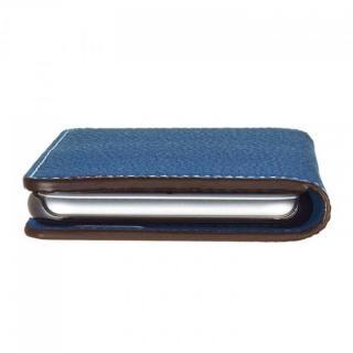 【iPhone6ケース】BONAVENTURA ドイツ製本革手帳型ケース ブルー iPhone 6_5