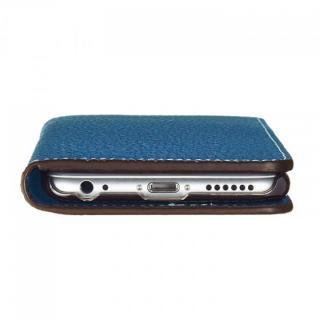 【iPhone6ケース】BONAVENTURA ドイツ製本革手帳型ケース ブルー iPhone 6_6