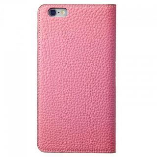 【iPhone6ケース】BONAVENTURA ドイツ製本革手帳型ケース ピンク iPhone 6_3