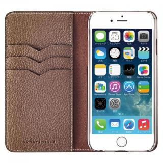 BONAVENTURA ドイツ製本革手帳型ケース グレイ iPhone 6