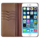 BONAVENTURA ドイツ製本革手帳型ケース グレイ iPhone 6s Plus/6 Plus