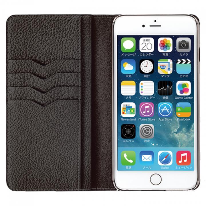 【iPhone6s Plus/6 Plusケース】BONAVENTURA ドイツ製本革手帳型ケース ブラック iPhone 6s Plus/6 Plus_0