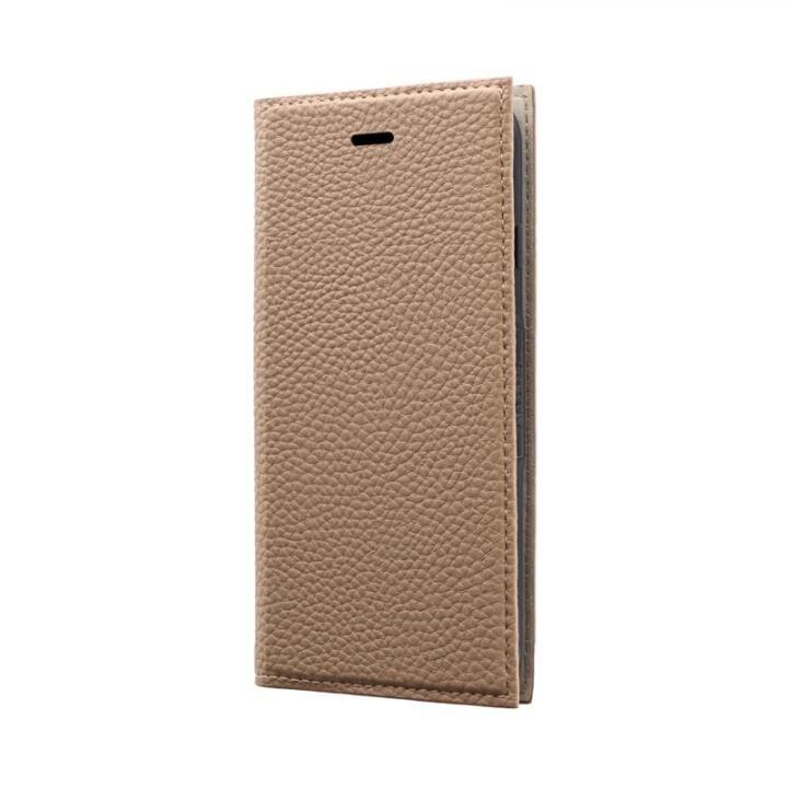 薄型PUレザーフラップケース「FOLINO」 ライトブラウン iPhone SE 第2世代_0