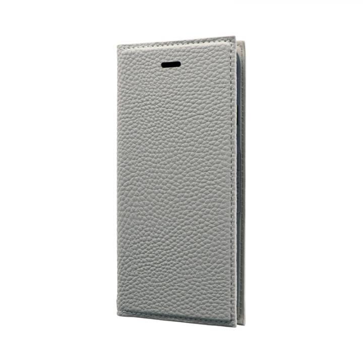 薄型PUレザーフラップケース「FOLINO」 ライトグレー iPhone SE 第2世代_0
