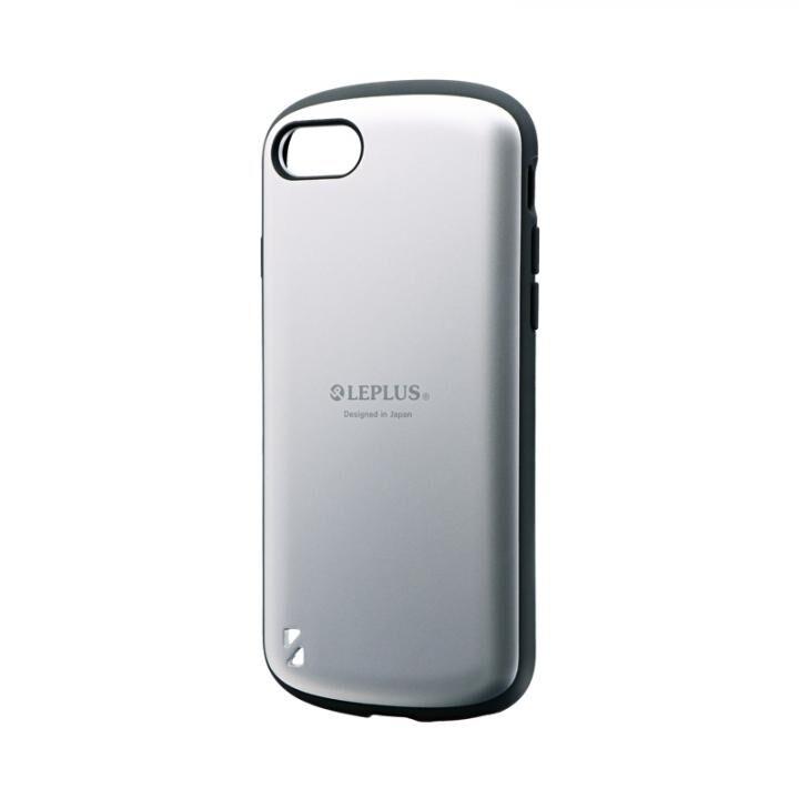 耐衝撃ハイブリッドケース「PALLET」 マットシルバー iPhone SE 第2世代_0