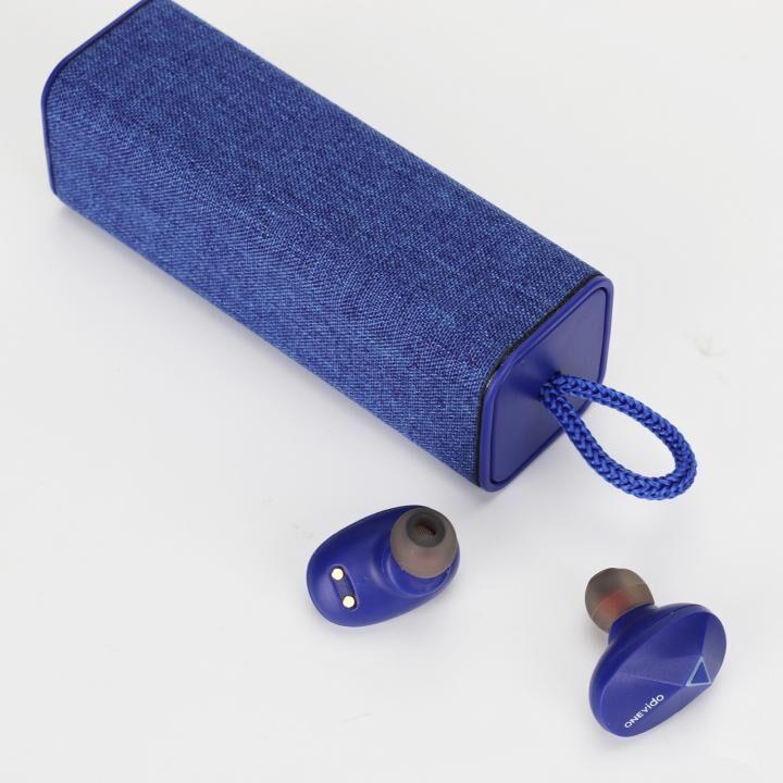 完全ワイヤレスイヤホン IPX5 防水 ONEvido S200 ブルー_0