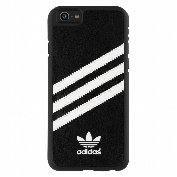 【iPhone6s/6ケース】adidas Originals ハードケース ブラックホワイト iPhone 6s/6_0