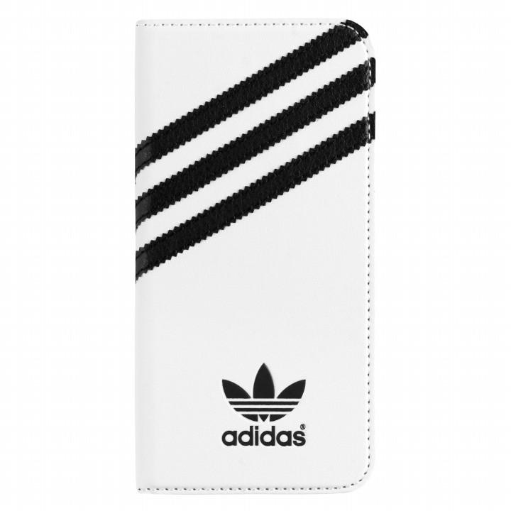 iPhone6s/6 ケース adidas Originals 手帳型ケース ホワイトブラック iPhone 6s/6_0