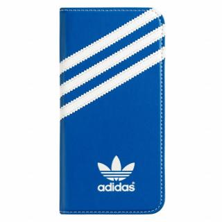 adidas Originals 手帳型ケース ブルーホワイト iPhone 6s/6