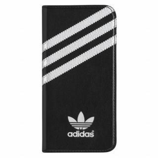 adidas Originals 手帳型ケース ブラックシルバー iPhone 6s/6