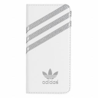 adidas Originals 手帳型ケース ホワイトシルバー iPhone 6s/6