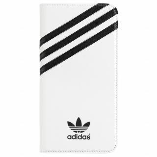 adidas Originals 手帳型ケース ホワイトブラック iPhone 6s Plus/6 Plus