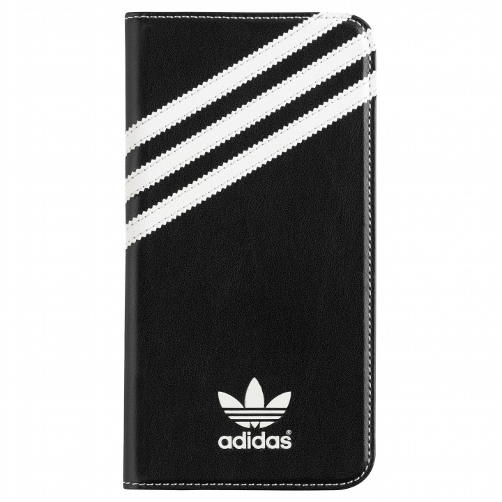 【iPhone6s Plus/6 Plusケース】adidas Originals 手帳型ケース ブラックホワイト iPhone 6s Plus/6 Plus_0