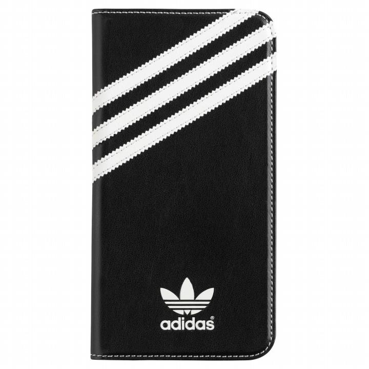 adidas Originals 手帳型ケース ブラックホワイト iPhone 6s Plus/6 Plus