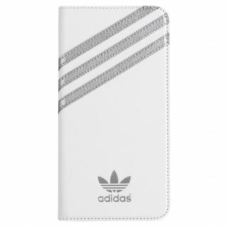 adidas Originals 手帳型ケース ホワイトシルバー iPhone 6s Plus/6 Plus