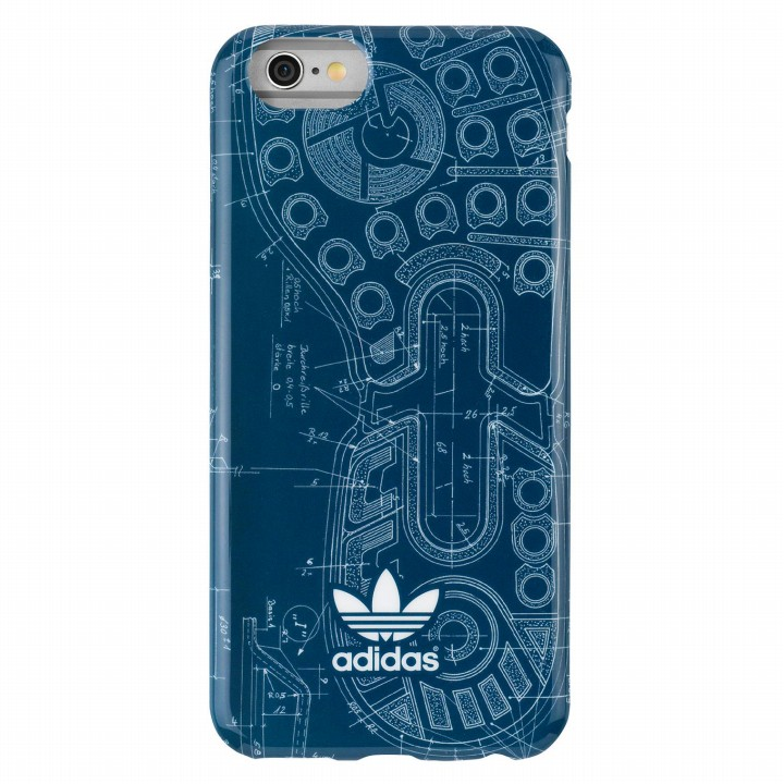 iPhone6s/6 ケース adidas Originals TPUケース Blue Sole iPhone 6s/6_0