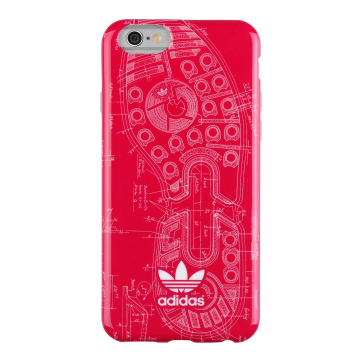 【iPhone6s/6ケース】adidas Originals TPUケース Vived Berry Sole iPhone 6s/6_0
