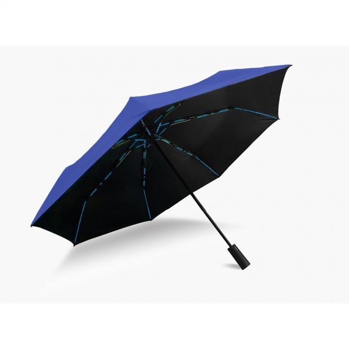 KUAIZI 折りたたみ傘 ブルー_0