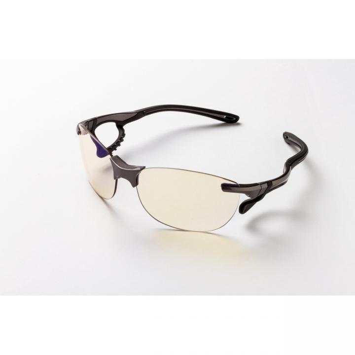 鼻でかけない薄い色のサングラス「エアサイト」 グレー_0