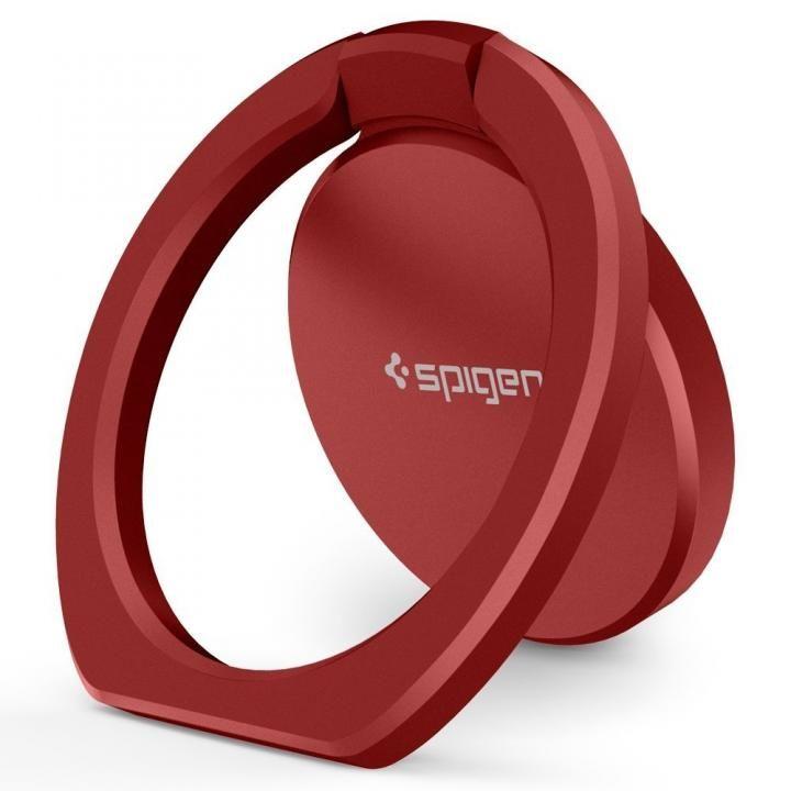 Spigen Style Ring POP スマホリング 落下防止 レッド_0