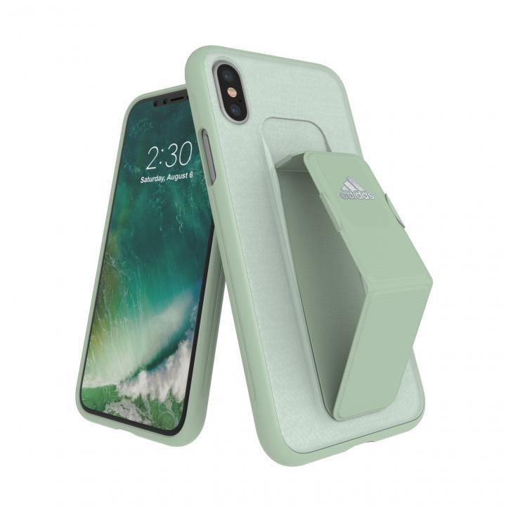 iPhone XS/X ケース adidas Performance Grip Case Aero Green iPhone XS/X_0