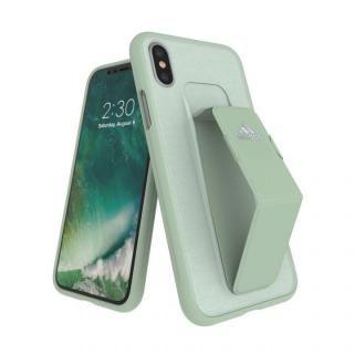 iPhone XS/X ケース adidas Performance Grip Case Aero Green iPhone XS/X