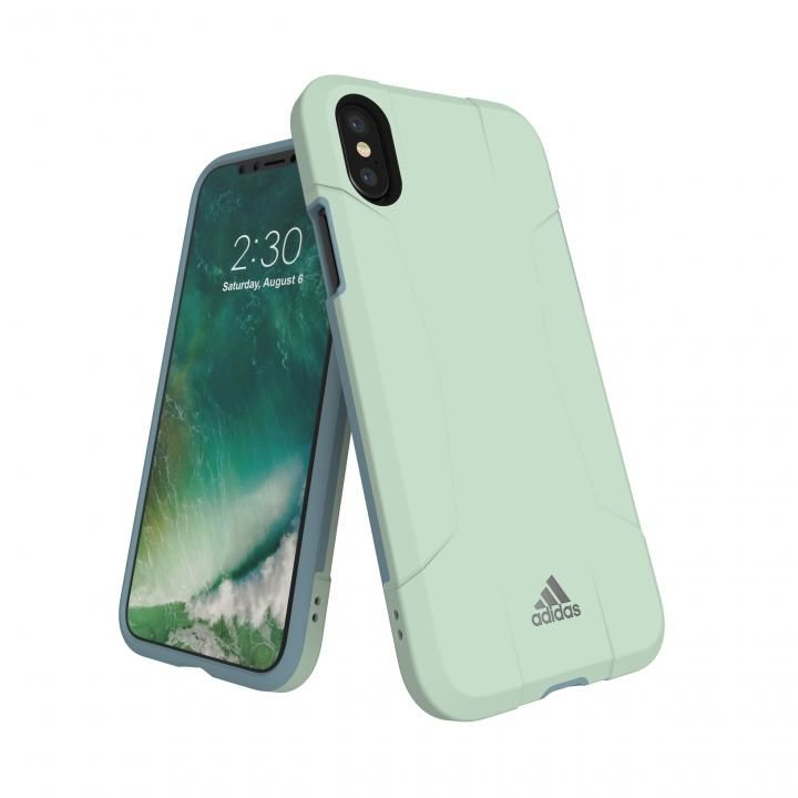 iPhone XS/X ケース adidas Performance Solo Case Aero Green iPhone XS/X_0