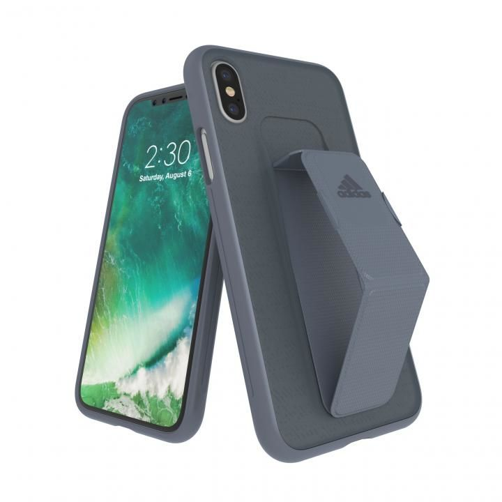 iPhone XS/X ケース adidas Performance Grip Case Raw Steel iPhone XS/X_0
