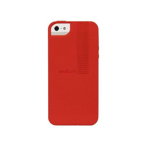 iPhone SE/5s/5 ケース Wi-Fi シグナルブースター  iPhone SE/5s/5 赤_0
