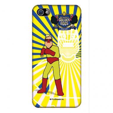 【その他のiPhone/iPodケース】Golden Eggs iPhone4,4sケース ターキーレンジャー・ブルー