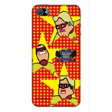 【その他のiPhone/iPodケース】Golden Eggs iPhone4s/4 ケースターキーレンジャー・レッド