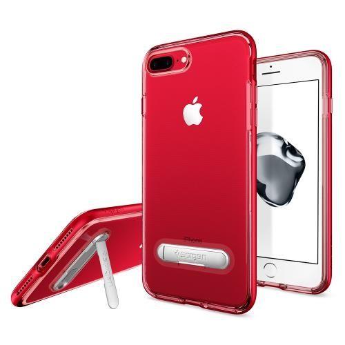 iPhone8/7 ケース Spigen クリスタルハイブリッド レッド iPhone 8/7_0