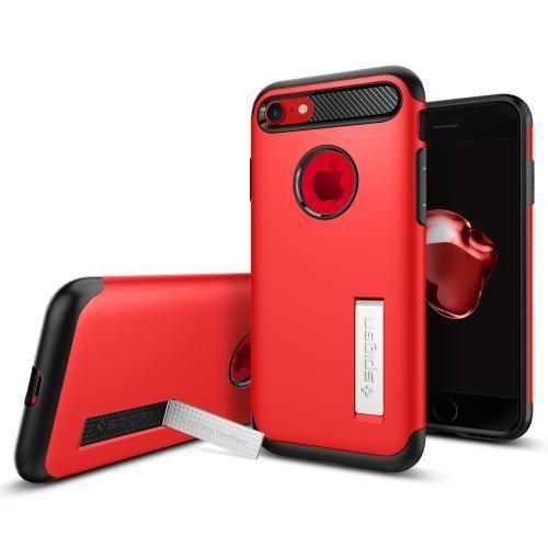 iPhone8/7 ケース Spigen スリムアーマー レッド iPhone 8/7_0