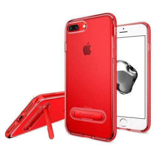 Spigen クリスタルハイブリッド レッド iPhone 8 Plus/7 Plus
