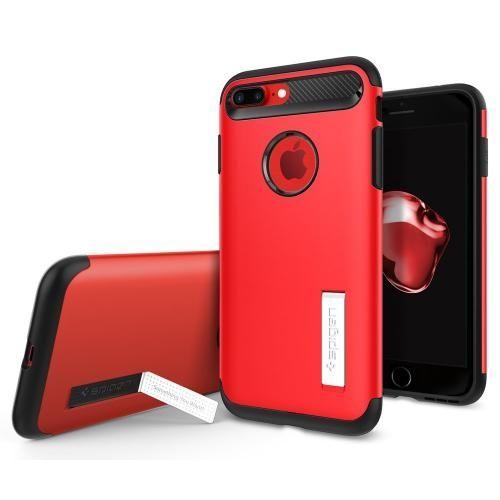 【iPhone8 Plus/7 Plusケース】Spigen スリムアーマー レッド iPhone 8 Plus/7 Plus_0