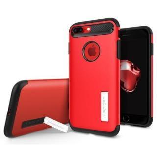 【iPhone8 Plus/7 Plusケース】Spigen スリムアーマー レッド iPhone 8 Plus/7 Plus