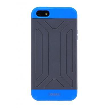 iPhone5 ハードケース SLIM TOUGH ブルー