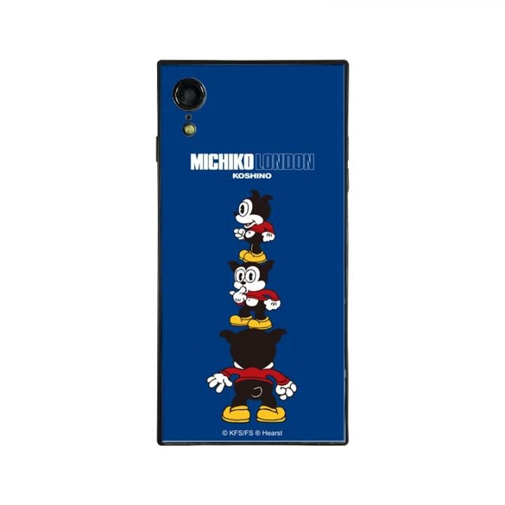 iPhone XR ケース MICHIKOLONDON×BETTYBOOP スクエア型 ガラスケース CUTIE BIMBO iPhone XR_0