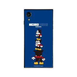 iPhone XR ケース MICHIKOLONDON×BETTYBOOP スクエア型 ガラスケース CUTIE BIMBO iPhone XR