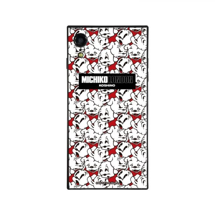 iPhone XR ケース MICHIKOLONDON×BETTYBOOP スクエア型 ガラスケース CUTIE PUDGY iPhone XR_0