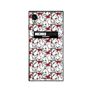 iPhone XR ケース MICHIKOLONDON×BETTYBOOP スクエア型 ガラスケース CUTIE PUDGY iPhone XR【9月上旬】