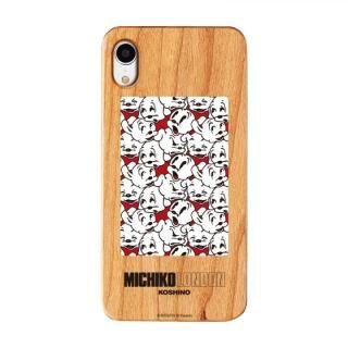 iPhone XR ケース MICHIKOLONDON×BETTYBOOP ウッドケース CUTIE PUDGY iPhone XR