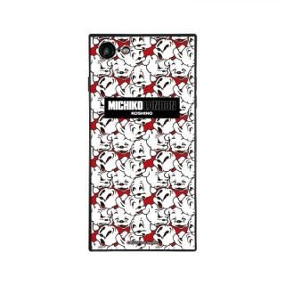 iPhone8/7 ケース MICHIKOLONDON×BETTYBOOP スクエア型 ガラスケース CUTIE PUDGY iPhone 8/7【8月上旬】