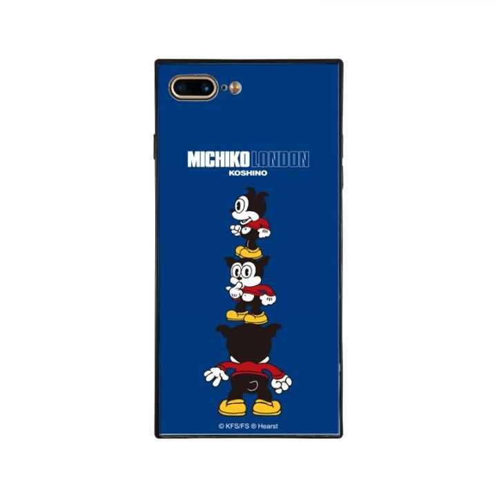 iPhone8 Plus/7 Plus ケース MICHIKOLONDON×BETTYBOOP スクエア型 ガラスケース CUTIE BIMBO iPhone 8 Plus/7 Plus_0