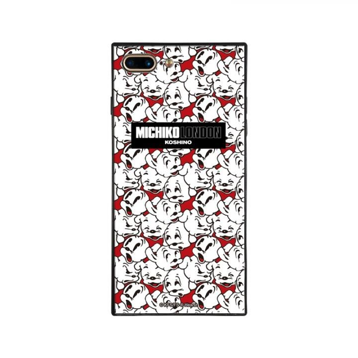 iPhone8 Plus/7 Plus ケース MICHIKOLONDON×BETTYBOOP スクエア型 ガラスケース CUTIE -PUDGY iPhone 8 Plus/7 Plus【6月上旬】_0
