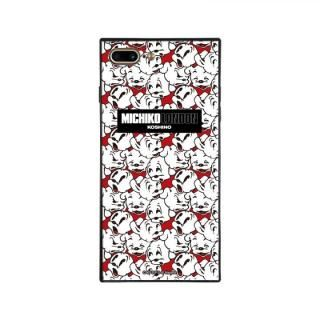iPhone8 Plus/7 Plus ケース MICHIKOLONDON×BETTYBOOP スクエア型 ガラスケース CUTIE -PUDGY iPhone 8 Plus/7 Plus【4月下旬】