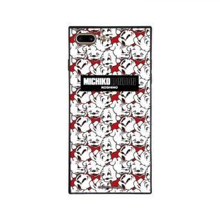 iPhone8 Plus/7 Plus ケース MICHIKOLONDON×BETTYBOOP スクエア型 ガラスケース CUTIE -PUDGY iPhone 8 Plus/7 Plus