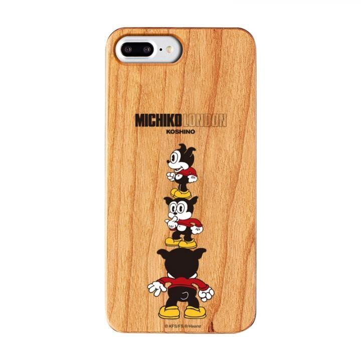 iPhone8 Plus/7 Plus ケース MICHIKOLONDON×BETTYBOOP ウッドケース CUTIE BIMBO iPhone 8 Plus/7 Plus/6s Plus/6 Plus_0