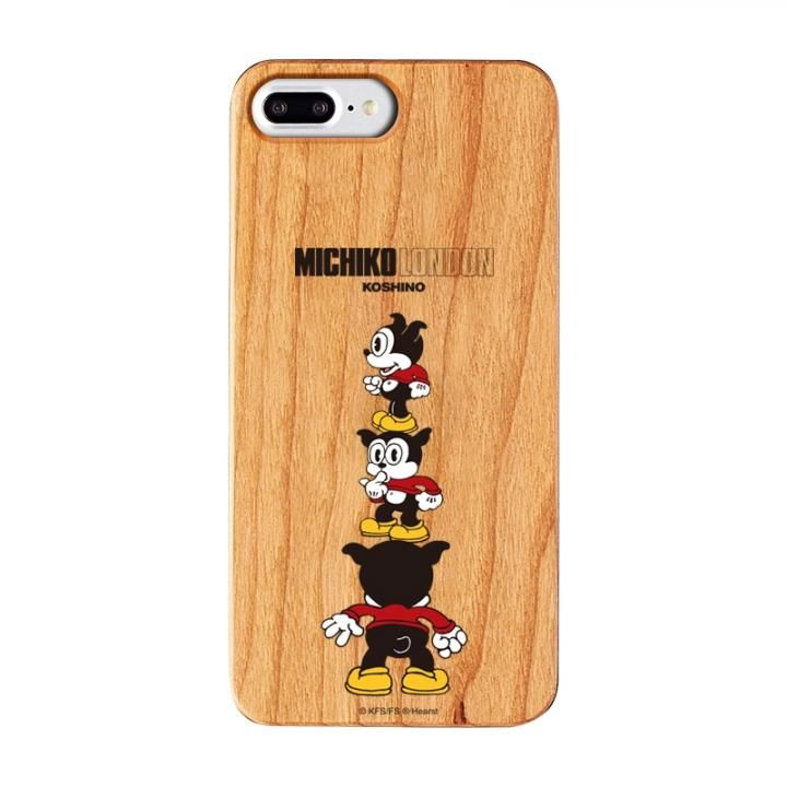 iPhone8 Plus/7 Plus ケース MICHIKOLONDON×BETTYBOOP ウッドケース CUTIE BIMBO iPhone 8 Plus/7 Plus/6s Plus/6 Plus_0